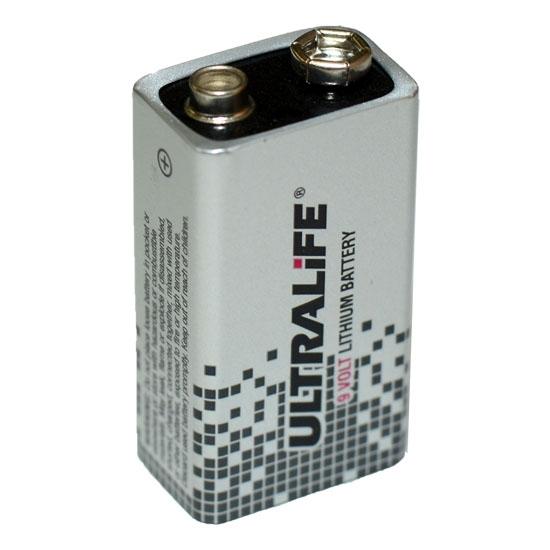 lithium batterie ultralife 9v block 1200mah. Black Bedroom Furniture Sets. Home Design Ideas