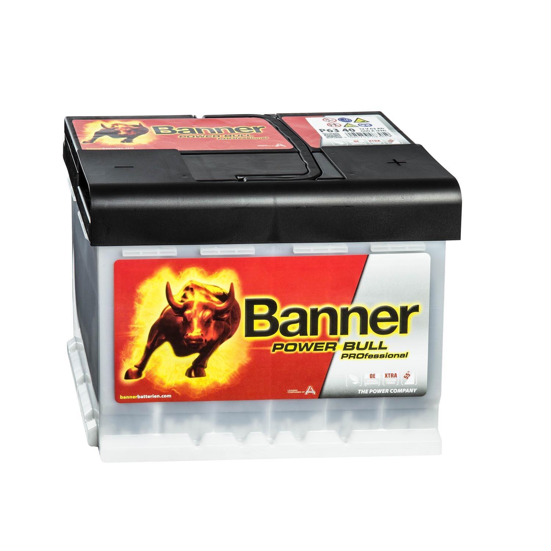 banner power bull p6340 autobatterie pro 12v 63ah. Black Bedroom Furniture Sets. Home Design Ideas