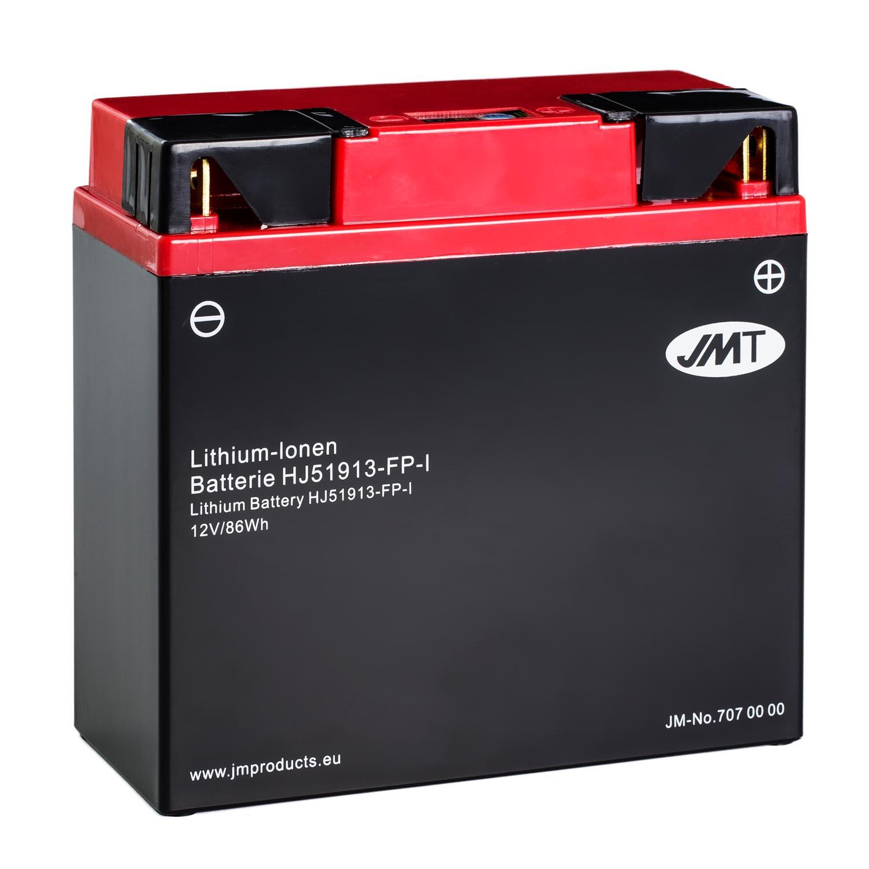 jmt lithium ionen motorrad batterie hj51913 fp 12v. Black Bedroom Furniture Sets. Home Design Ideas