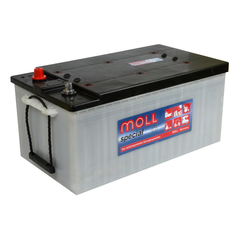 Versorungsbatterie Boot MOLL special CLASSIC 88230 12V 230Ah ersetzt SOLAR 80240