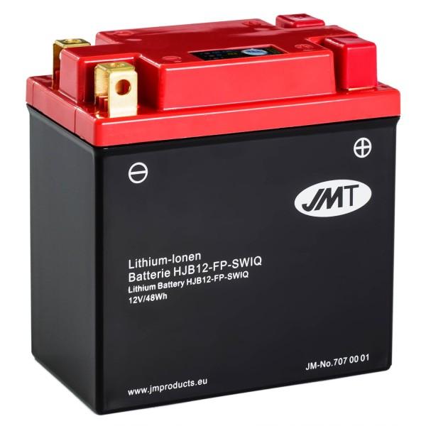 JMT Lithium-Ionen-Motorrad-Batterie HJB12-FP 12V