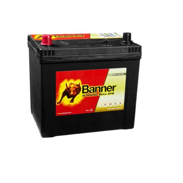 Banner Running Bull Autobatterie EFB 12V 65Ah 56516 ASIA