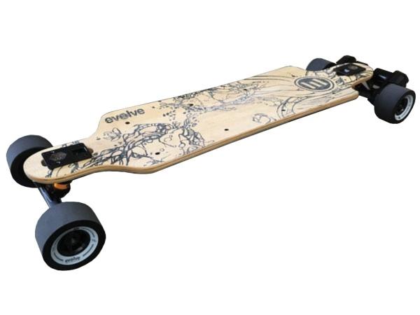 Evolve Bamboo GT/X E-Skateboard/Longboard 36V Zellentausch