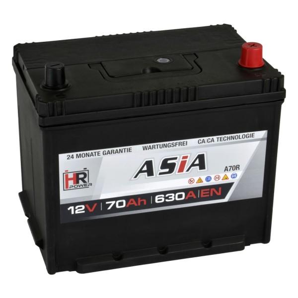 HR HiPower ASIA Autobatterie A70R 12V 70Ah