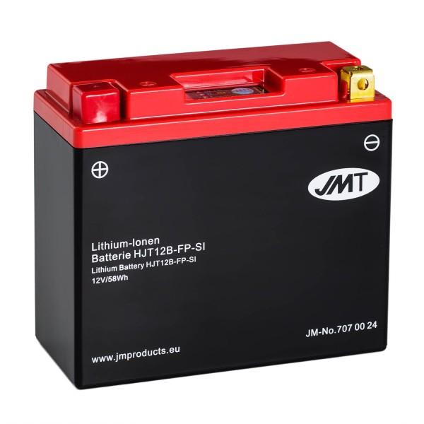 JMT Lithium-Ionen-Motorrad-Batterie HJT12B-FP 12V
