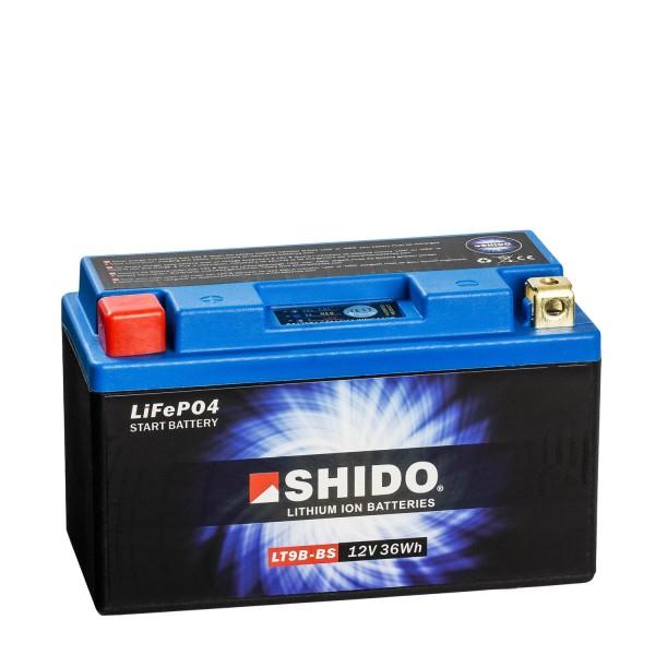 Shido Lithium Motorradbatterie LiFePO4 LT9B-BS 12V