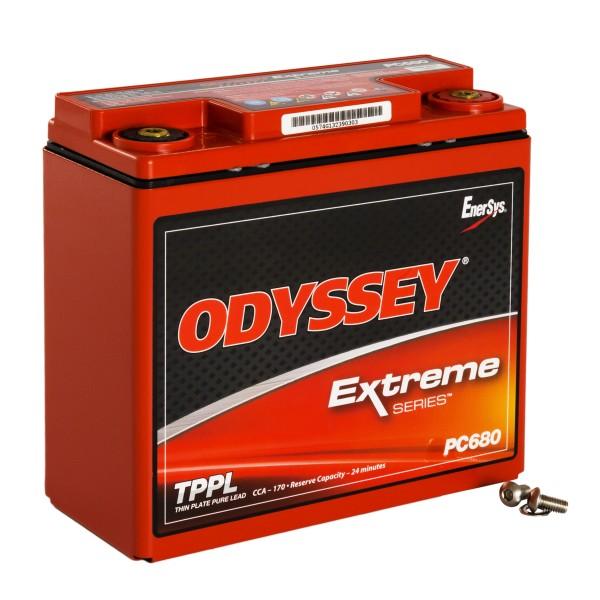 Hawker EnerSys Odyssey Motorradbatterie PC680MJ 12V 16Ah