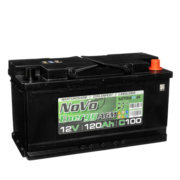 Novo Energy AGM Batterie 12V 120Ah