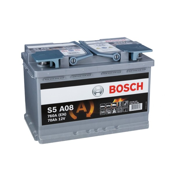 Bosch S5 12V 70Ah A08 AGM Autobatterie
