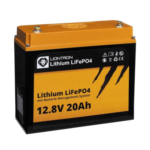 LIONTRON LiFePO4 LI1220LX 12,8V 20Ah Speicherbatterie