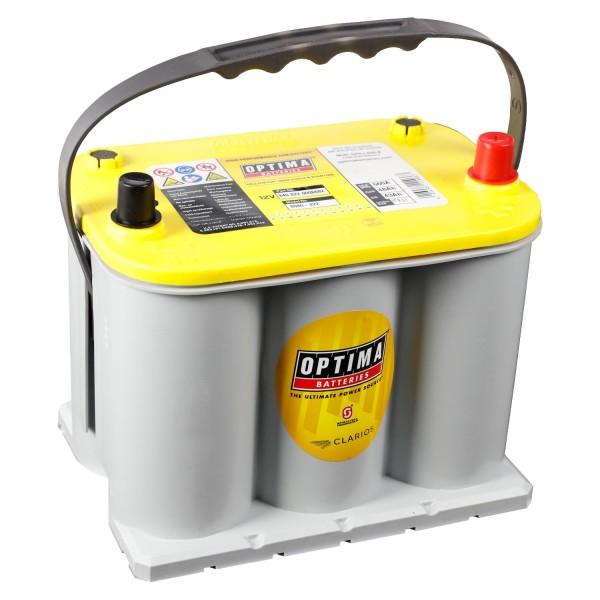 Optima YellowTop Batterie YT R 3,7L 12V 48Ah