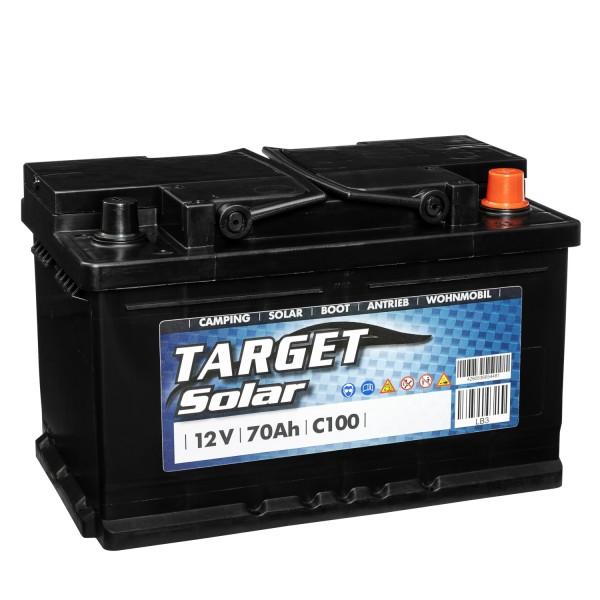 Target Solar 12V 70Ah Versorgerbatterie