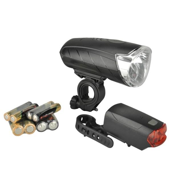 FISCHER LED-Beleuchtungsset Batterie 50/25/10Lux
