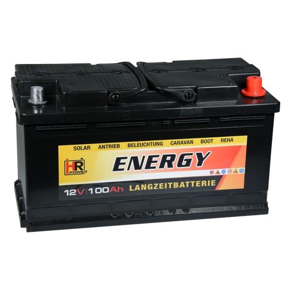 HR-ENERGY Batterie 12V 100Ah