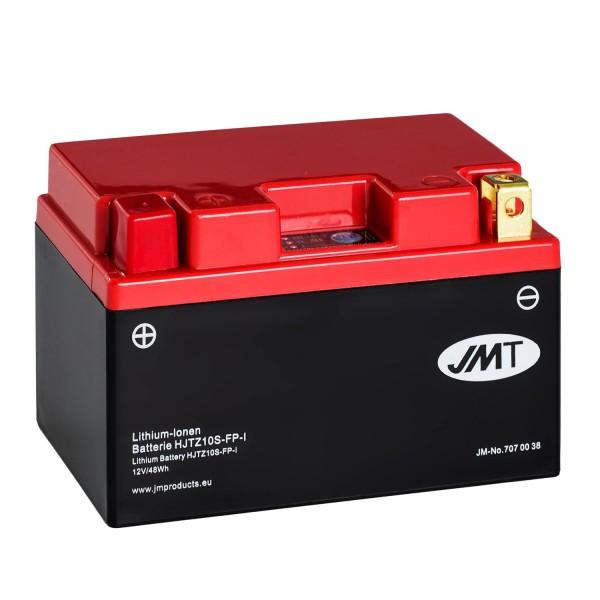 JMT Lithium-Ionen-Motorrad-Batterie HJTZ10S-FP 12V