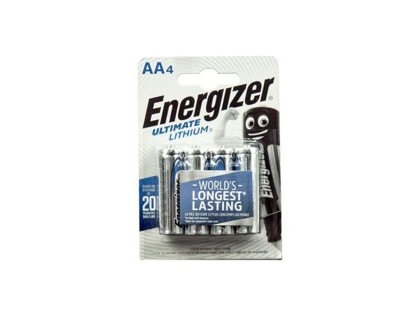 Energizer Ultimate Lithium Hochstrom Batterie 1,5V L91 LR6 AA