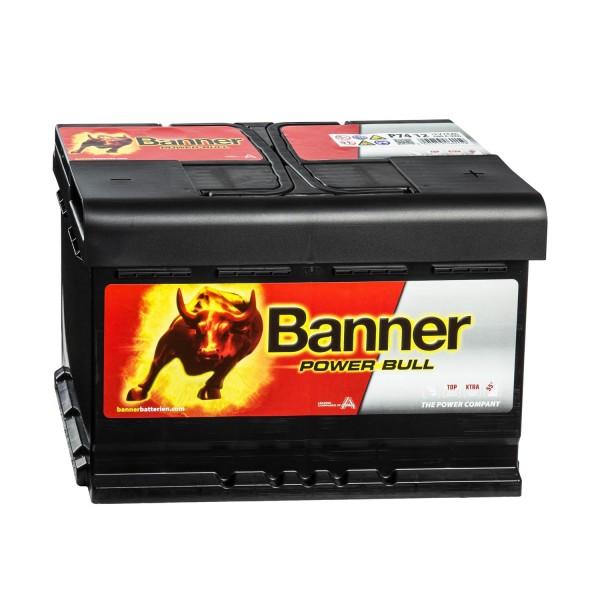 Banner Power Bull P7412 Autobatterie 12V 74Ah