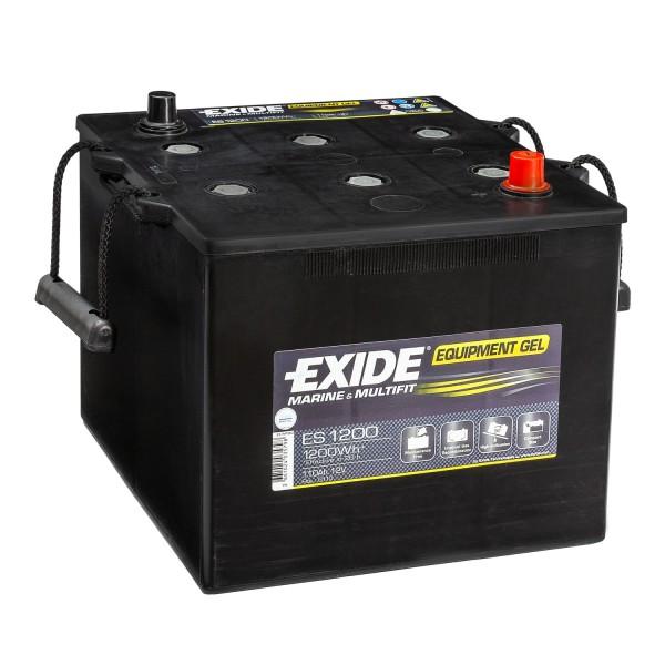 Exide Equipment Gel Batterie ES1200 (Gel G110) 12V 110Ah Nato-Block