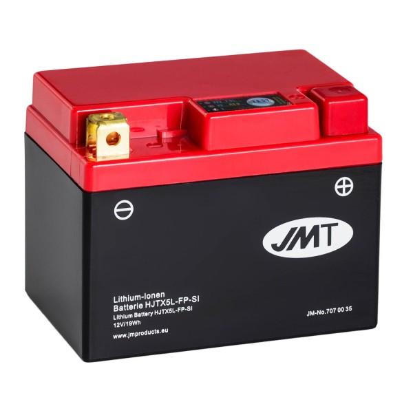 JMT Lithium-Ionen-Motorrad-Batterie HJTX5L-FP 12V