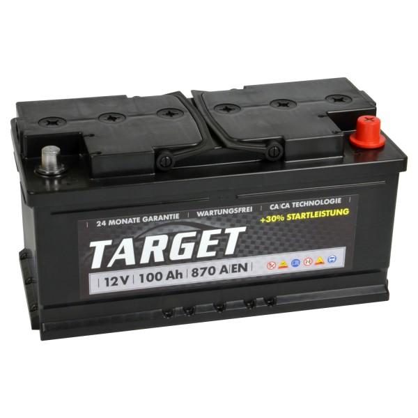 Target Start Autobatterie 12V 100Ah