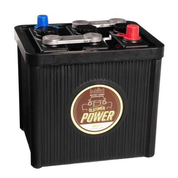 intAct Oldtimer-Power 08411 Autobatterie 6V 84Ah trocken