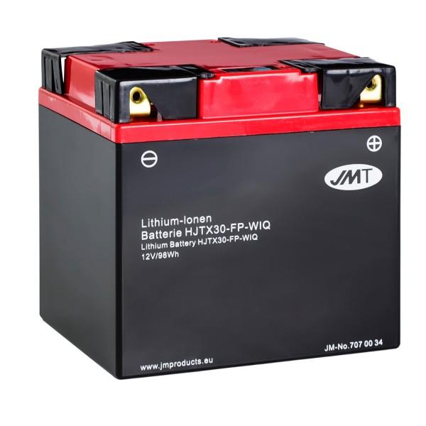JMT Lithium-Ionen-Motorrad-Batterie HJTX30-FP 12V