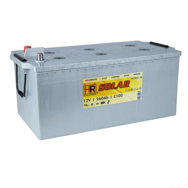 HR Solar Versorgerbatterie 12V 260Ah