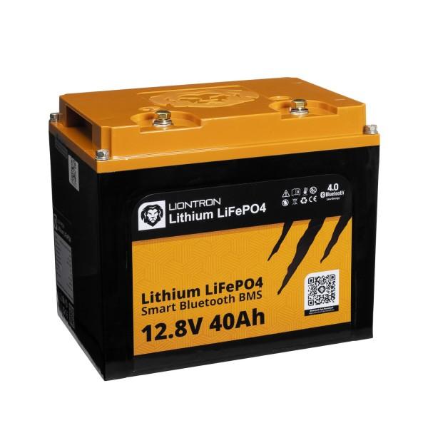 LIONTRON LiFePO4 Smart BMS 12,8V 40Ah Speicherbatterie