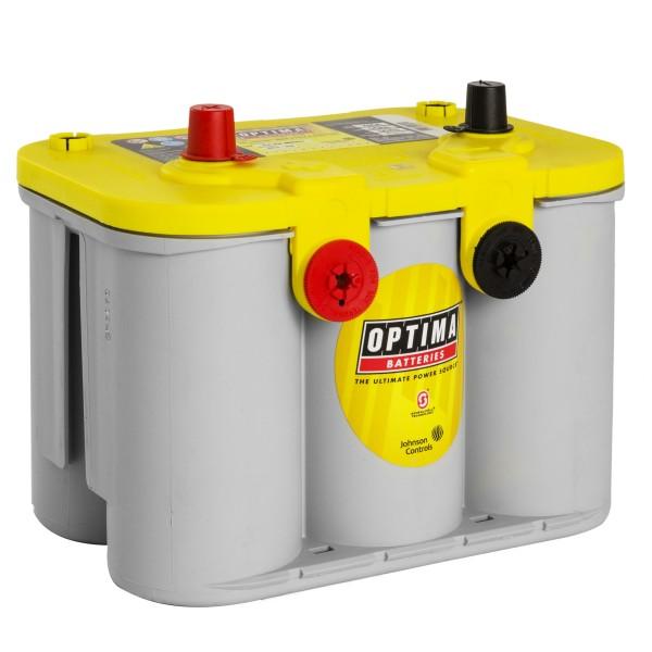 Optima YellowTop Batterie YT U 4,2L 12V 55Ah