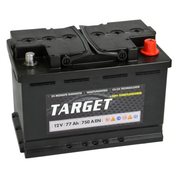 Target Start Autobatterie 12V 77Ah