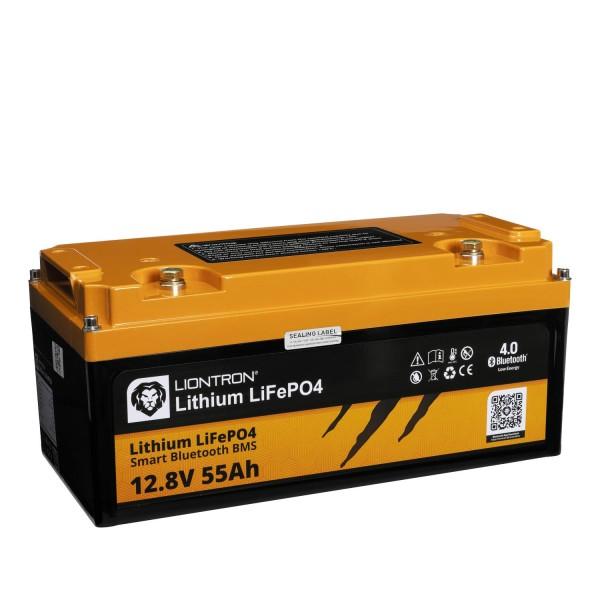 LIONTRON LiFePO4 Smart BMS 12,8V 55Ah Speicherbatterie