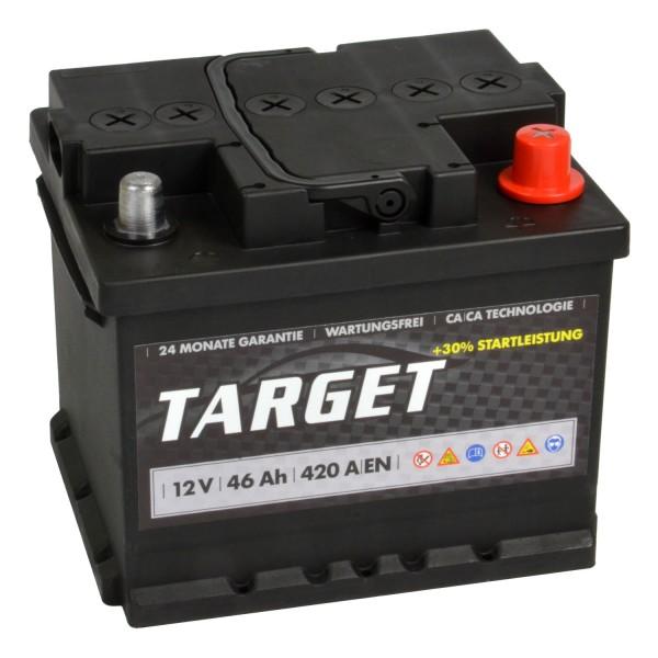 Target Start Autobatterie 12V 46Ah
