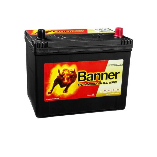 Banner Running Bull Autobatterie EFB 12V 70Ah 57015 ASIA