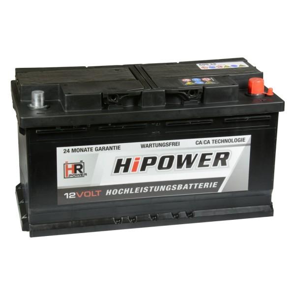 HR HiPower Autobatterie 12V 88Ah