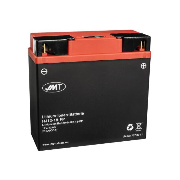 JMT Lithium-Ionen Rasentraktorbatterie HJ12-18-FP 12V