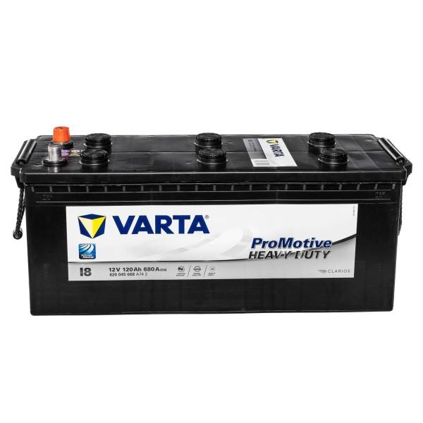 VARTA Promotive Black I8 12V 120Ah LKW-Batterie