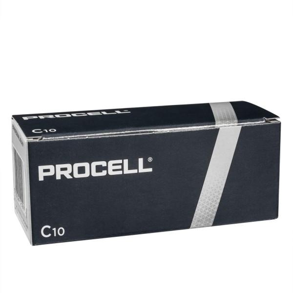 10x Duracell Procell C Baby Zellen LR14 Alkali Batterien