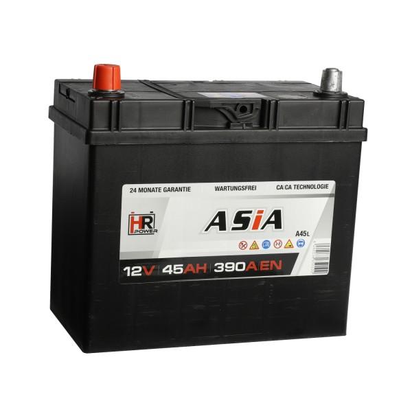 HR HiPower ASIA Autobatterie A45L 12V 45Ah