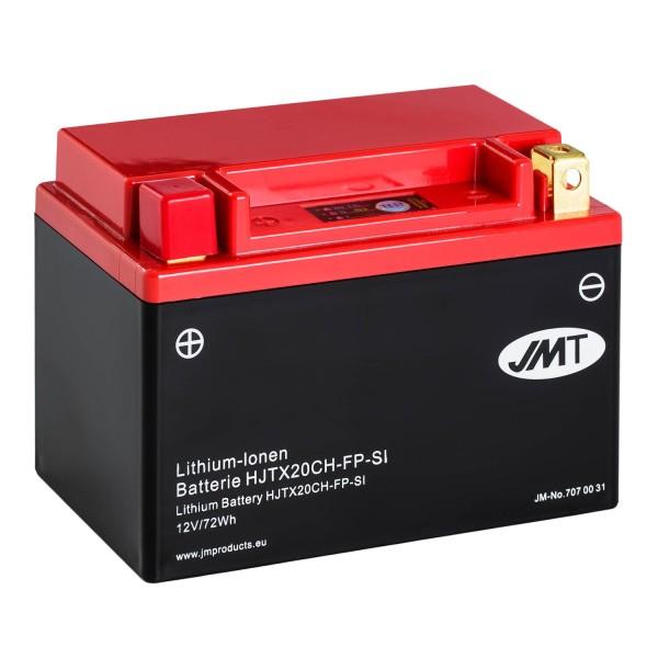JMT Lithium-Ionen-Motorrad-Batterie HJTX20CH-FP 12V