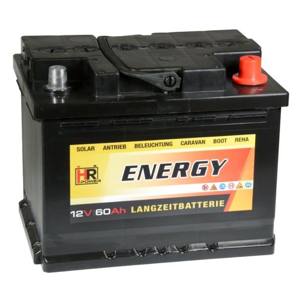 HR-ENERGY Batterie 12V 60Ah