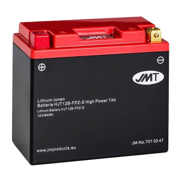 JMT Lithium-Ionen-Motorrad-Batterie HJT12B-FPZ-S 12V