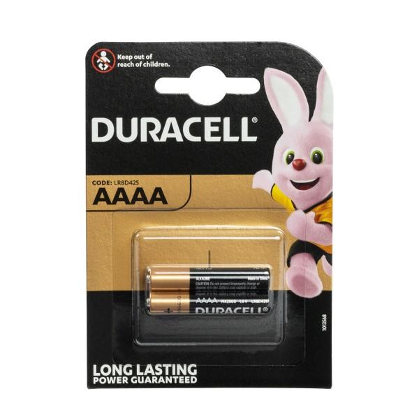 Duracell Specialty Alkaline AAAA Batterien LR8D425 2er Blister