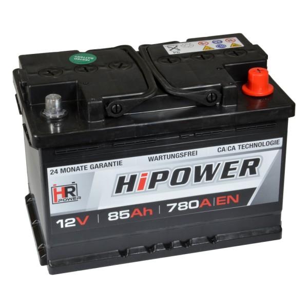 HR HiPower Autobatterie 12V 85Ah