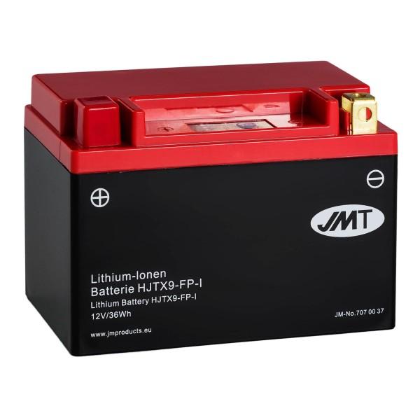 JMT Lithium-Ionen-Motorrad-Batterie HJTX9-FP 12V
