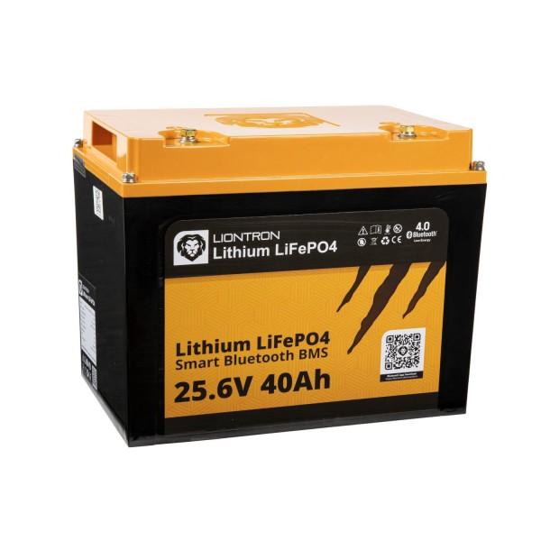 LIONTRON LiFePO4 Smart BMS 25,6V 40Ah Speicherbatterie
