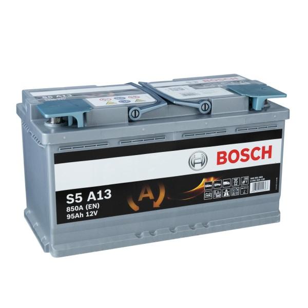 Bosch S5 12V 95Ah A13 AGM Autobatterie