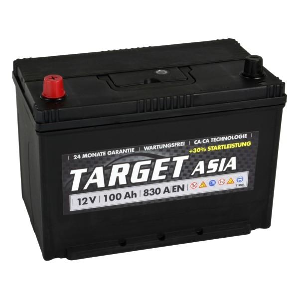 Target ASIA Autobatterie T100L 12V 100Ah