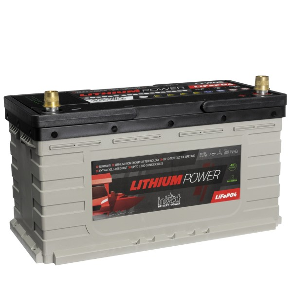 intAct Lithium-Power 12,8V 105Ah LI-1200 Versorgerbatterie