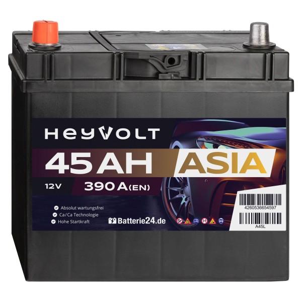 Target ASIA Autobatterie T45L 12V 45Ah