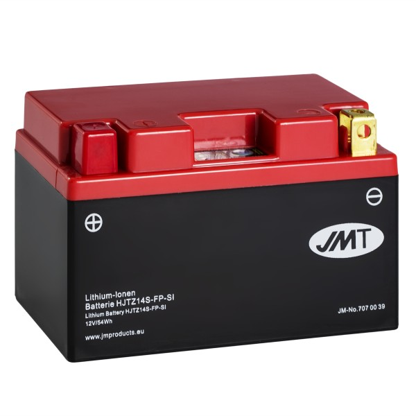 JMT Lithium-Ionen-Motorrad-Batterie HJTZ14S-FP 12V